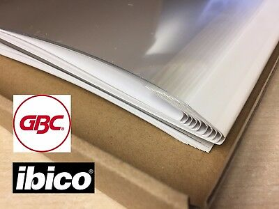 Thermal Binding Cover A4, 1.5mm, 3mm, 4mm, 8mm - PK20 - ibico GBC ibiLux700