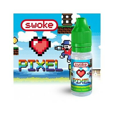 E-liquide mod box clearomiseur SWOKE Pixel 10 ml