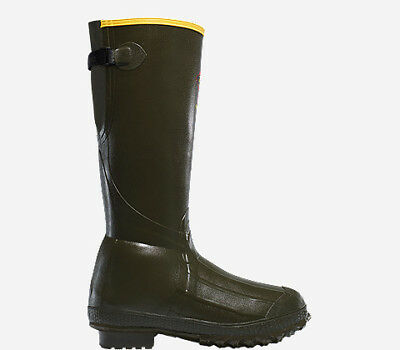 """Lacrosse Burly Trac-Lite 18"""" Men's Boots Forest Green 800G Sz 11 266060"""