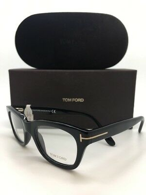 98baed8bd2697 TOM FORD TF5178 001 50-21-145 BLACK Optical Frame Glasses W. CASE ...