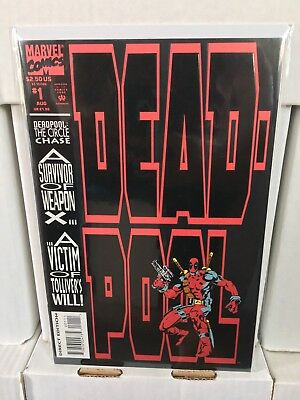 Deadpool #1 NM+/M 9.8 The Circle Chase 1st Solo Marvel Comics 1993