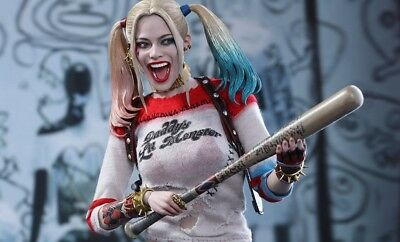 Harley Quinn Suicide Squad Movie Masterpiece 1/6 Scale Fig Hot Toys New