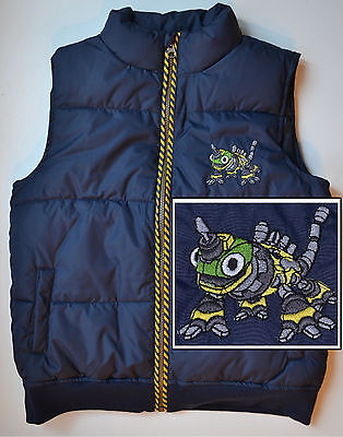 NWT Gymboree Boys Puffer Vest In Navy Size M(7-8)