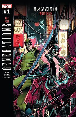 GENERATIONS WOLVERINE & ALL-NEW WOLVERINE | LOWEST $ ONLINE! | $1.99 Shipping!!!