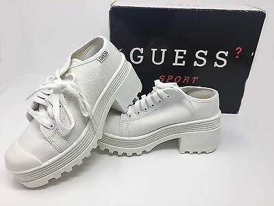 GUESS Canvas Sneaker with Lug Sole - Brand New in Box ~ VINTAGE 1999 - 2000