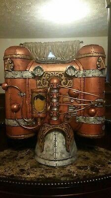 STEAMPUNK steampunk jetpack personal airship