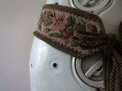 70s Boho Tapestry Belt, Fabric Belt Small Medium Buy 3+ items for Free Postage