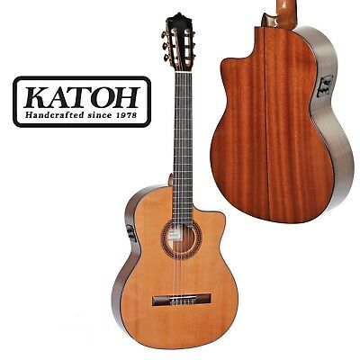 Katoh Mcg40Ceq Classical Guitar. Fitted With The Fishman Isys Plus Preamp