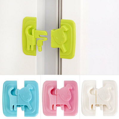 Kids Children Baby Pet Proof Door Cupboard Fridge Cabinet Drawer Safety Lock