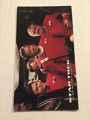1994 SkyBox Star Trek Generations Card #2 Old Emotions
