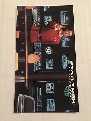 1994 SkyBox Star Trek Generations Card #3 Welcome Aboard