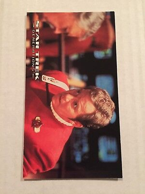 1994 SkyBox Star Trek Generations Card #7 Trapped