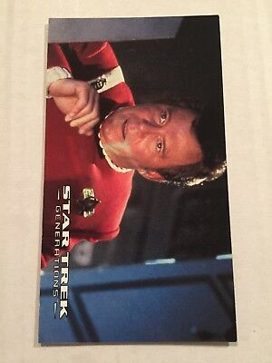 1994 SkyBox Star Trek Generations Card #9 Race Against Time