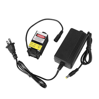 450nm 1600mw 1.6W 12V Focusable Blue Laser Dot Module for Carving w/ Adapter im