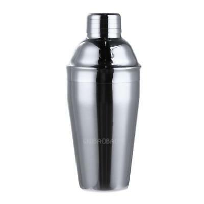 550ml Stainless Steel Cocktail Drink Shaker Mixer Party Bar Drink Mixer