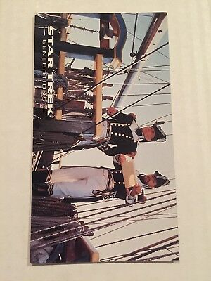 1994 SkyBox Star Trek Generations Card #13 Crime And Punishment