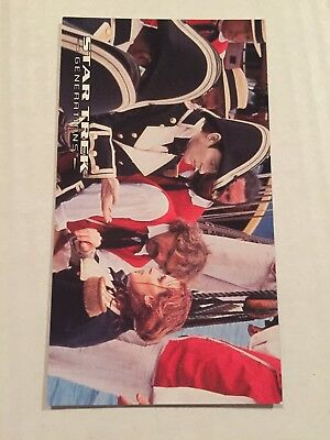 1994 SkyBox Star Trek Generations Card #15 Not Clear On The Concept