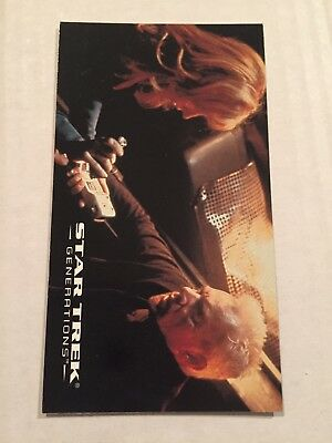 1994 SkyBox Star Trek Generations Card #18 Questions And Answers