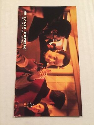 1994 SkyBox Star Trek Generations Card #19 Feeling The World