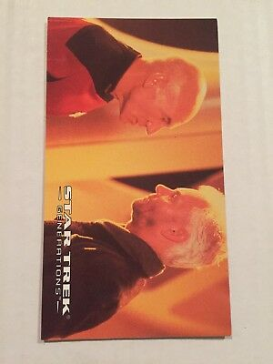 1994 SkyBox Star Trek Generations Card #20 Soran's Request