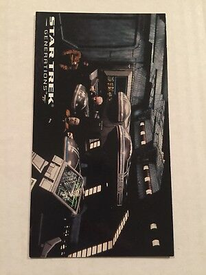 1994 SkyBox Star Trek Generations Card #27 Two Minutes Left