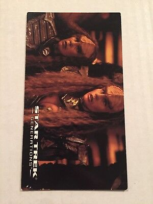 1994 SkyBox Star Trek Generations Card #28 Enemies Decloak