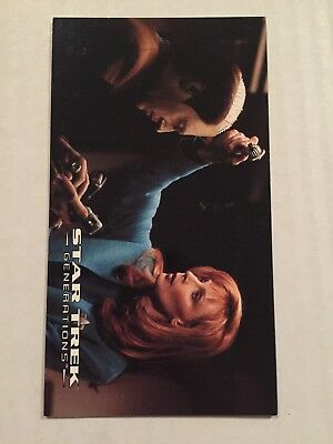 1994 SkyBox Star Trek Generations Card #31 Stuck With Emotions