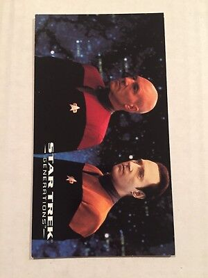 1994 SkyBox Star Trek Generations Card #34 The Place Of Emotions