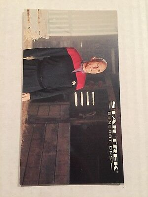 1994 SkyBox Star Trek Generations Card #47 A Chance To Start Again