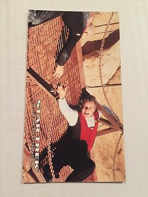 1994 SkyBox Star Trek Generations Card #52 Hanging In The Balance