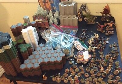 Massive Heroscape Lot: Base Sets, Expansions, 700+ Pieces, Instruction Books