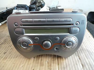 Nissan Micra Radio/cd/dvd/sat/tv Standard Cd Player, K13, 11/10- 10 11 12 13 14