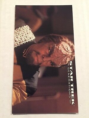 1994 SkyBox Star Trek Generations Card #64 Lieutenant Commander Worf