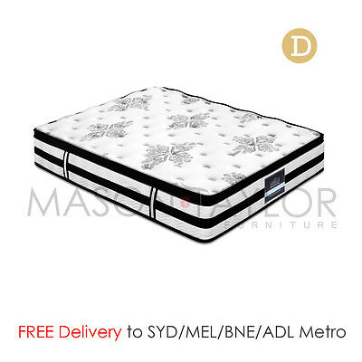 FREE DELIVERY(T&C) Euro Top Bed Mattress Double Size 5 zoned pocket springs 34CM