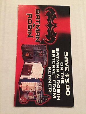 1997 Batman and Robin DC Comics KENNER COUPON