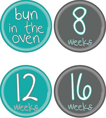 Personalised Weekly Pregnancy Stickers, Belly Stickers, Baby Bump Stickers_P007