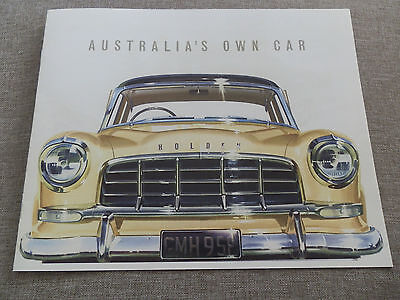 1958 Fc Holden Sales Brochure 100% Guarantee.