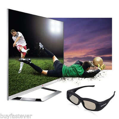 3D Active Shutter Glasses IR Bluetooth for Panasonic Sony Sharp Samsung LG 3DTV