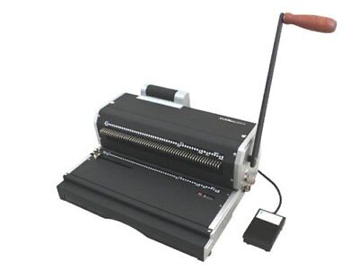 "Akiles Coilmac-ER 41+ Plus 13"" 41 Coil Binding Machine & Punch Heavy Duty Ova..."