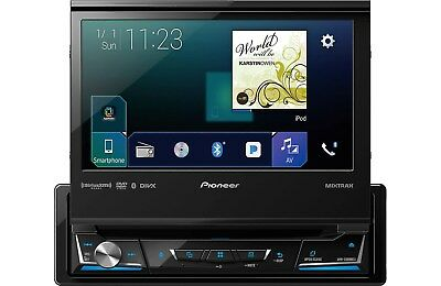"NEW Pioneer AVH-3300NEX DVD/CD/MP3 Player 7"" Flip Up Bluetooth + ND-BC8 Camera"