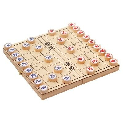 Traditional Wooden Xiang Qi Chinese Chess Checker Game W2015. exsabrina