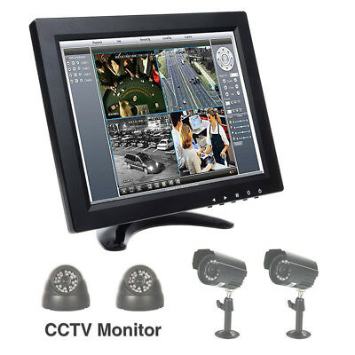 """10"""" Inch TFT LCD Color Screen Monitor Screen BNC HDMI Video for TV PC UK STOCK"""