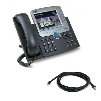 Cisco Unified IP Phone 7970G with SIP Firmware 7970G - B Grade