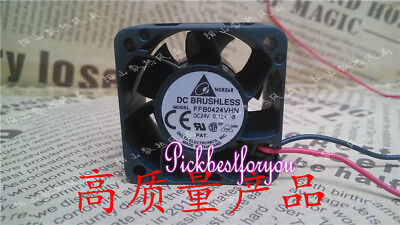 DELTA FFB0424VHN Double ball cooling fan DC24V 0.15A 40*40*28mm 2wire #Mi34 QL