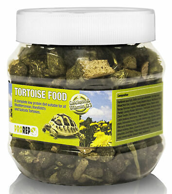 ProRep Tortoise Food 250g - Dried Herb and Vegetable Tortoise Diet Supplement
