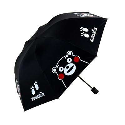 Kumamon Black Bear Umbrella Black Cool Long Umbrella Bumbersoll