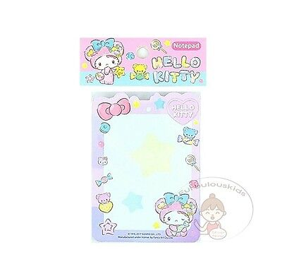Sanrio Hello Kitty 50 Sheets Notepad/memo Pad/cute Paper/small Note/die-Cut #e