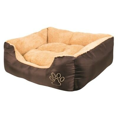 Xl Pet Bed Dog Cat Puppy Kitten Soft Warm Fleece Lining Cosy Washable Cushion