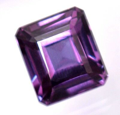 11.00 Ct Natural Alexandrite Color Changing GGL Certified Emerald Cut Gemstone