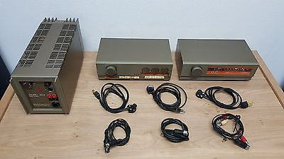 Quad 33 Pre-Amp, 303 Power-Amp & FM 3 Tuner Vintage Audio Set *SERVICE NEEDED*